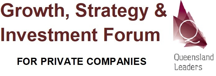Growth Strategy & Investment Forum 23rd August - Alumni - Click to enlarge picture.