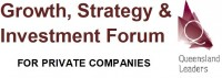 Growth Strategy & Investment Forum 23rd August - Acumen - Click to enlarge picture.